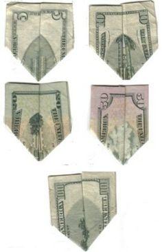 9/11 money origami