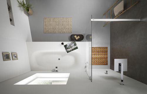 Inloopdouche Met Bad : Veilige badkamer voor ouderen