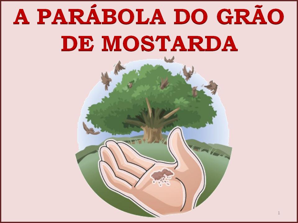 Resultado de imagem para parábola do grão de mostarda