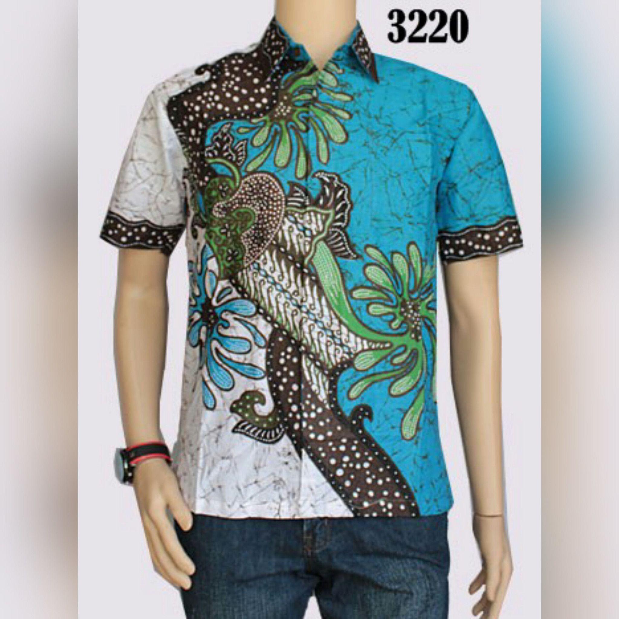 Baju Batik Pria Eksklusif Kemeja Lengan Pendek Modern Motif Kotak Flanel Model Slimfit Code Madox Navy Xl Kerah Koko
