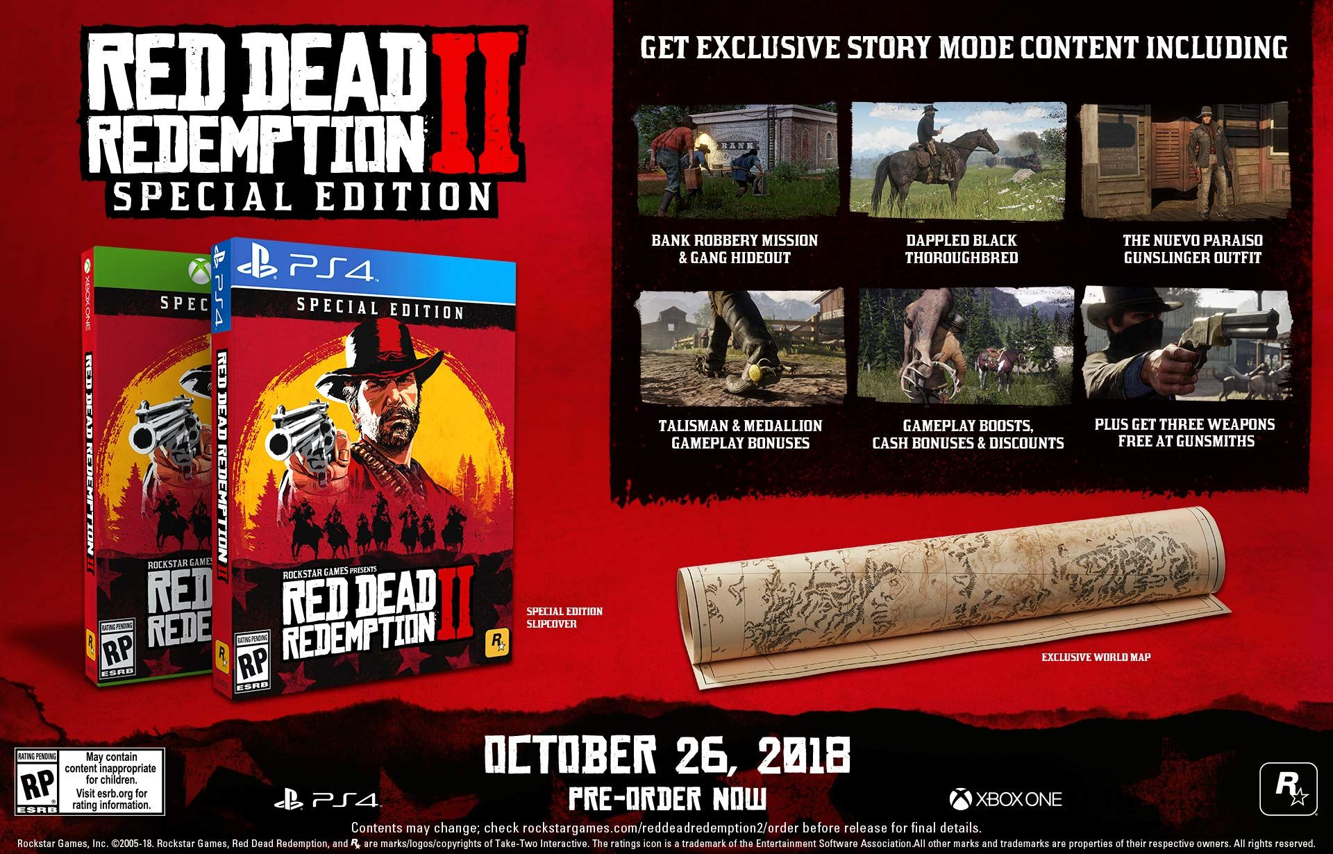 Red Dead Redemption 2 Special Edition Playstation 4 Redemption Dead Red Playstation Red Dead Redemption Red Dead Redemption Ii Redemption