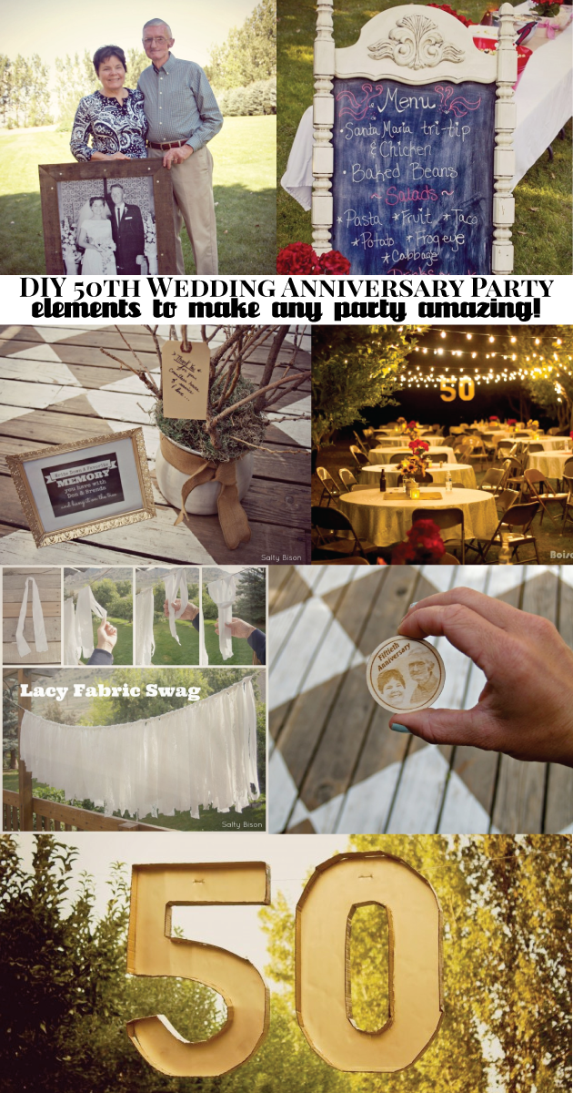Diy 50th Wedding Anniversary Ideas 50th Wedding Anniversary Party 50th Wedding Anniversary 50th Anniversary Celebration