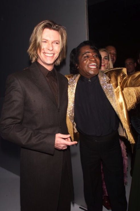 David Bowie and James Brown.