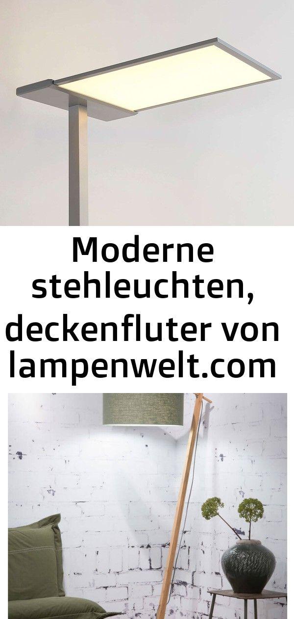Led Office Stehlampe Esmael 36w 20w Dimmer Von Lampenwelt Com Moderne Leselampen Zum Hinstellen Ins Wohnzimmer Oder Schlafz Home Decor Entryway Tables Decor