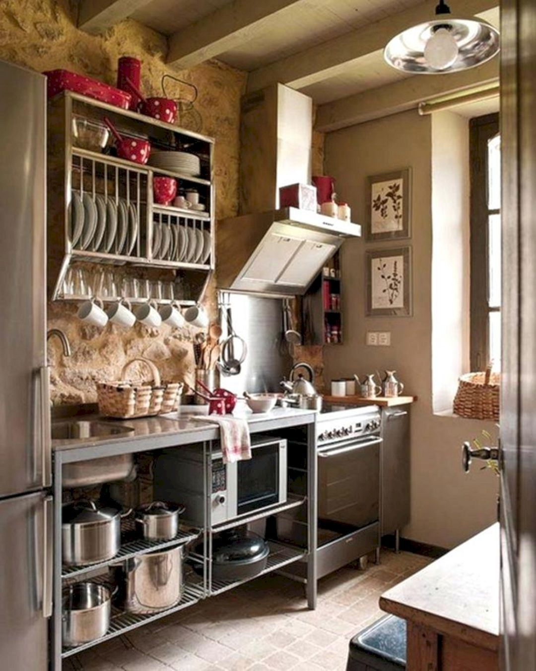 21 Japanese Kitchen Design That Makes You Amazed Freshouz Com Small Rustic Kitchens Tiny House Kitchen Rustic Industrial Kitchen