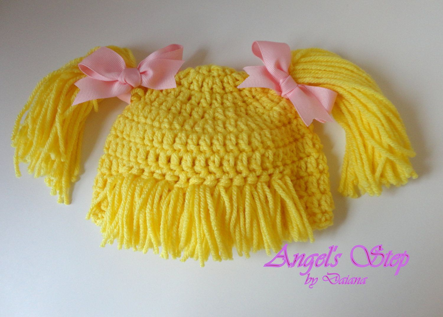 cabbage patch crochet hat pattern free | ON SALE Cabbage Patch Hat ...
