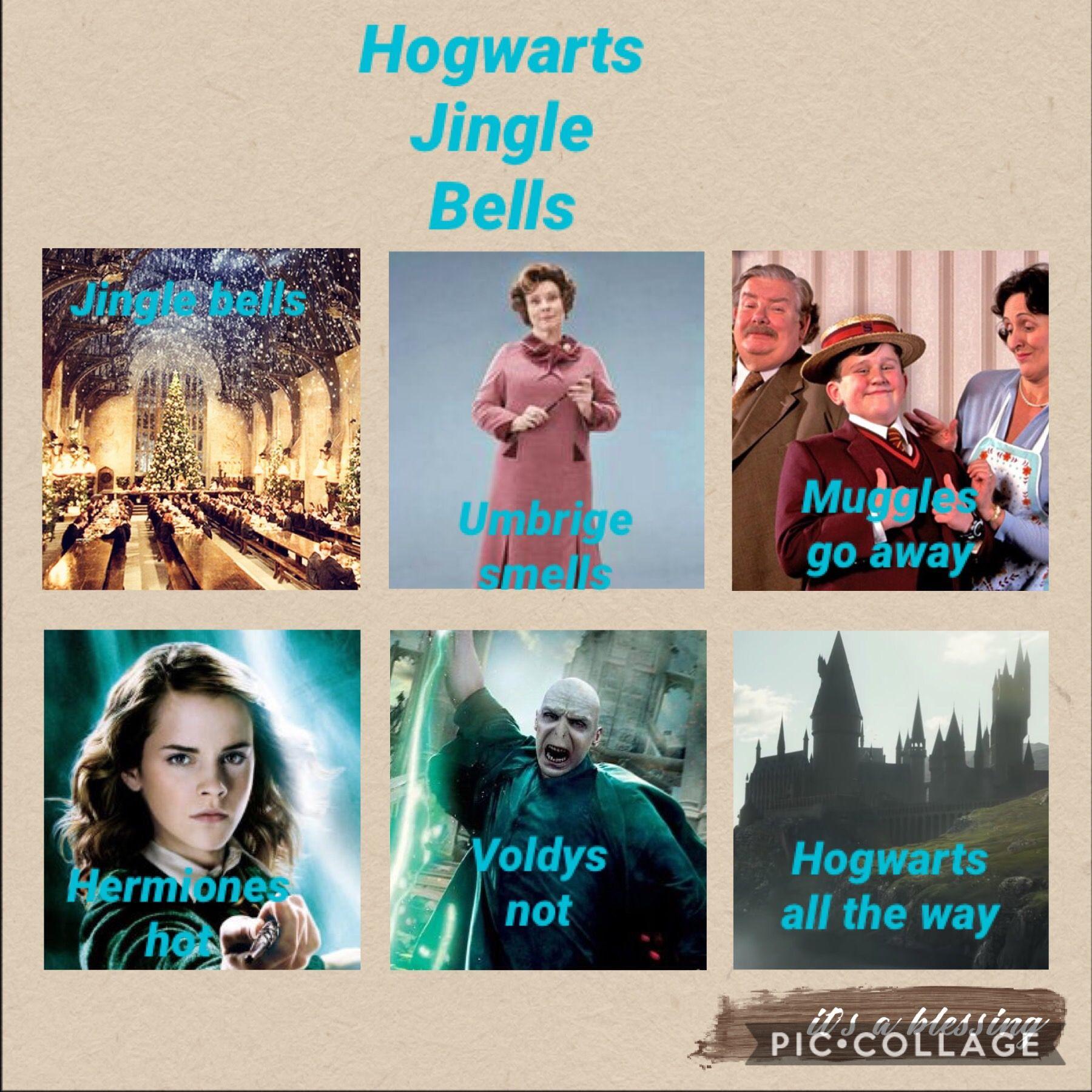 Hogwarts Jingle Bells I Ll Be Singing This For Weeks Harry Potter Funny Harry Potter Jokes Harry Potter Memes