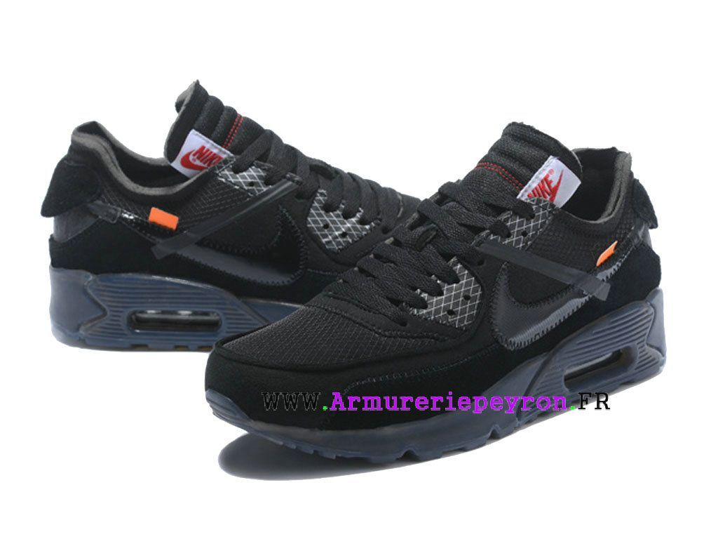 newest 33146 61d8c 2018 Nouvelle Coutume Off-White X Nike Air Max 90 Prix ...