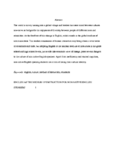 How To Write An Abstract Abstract Writing Abstract Example Writing