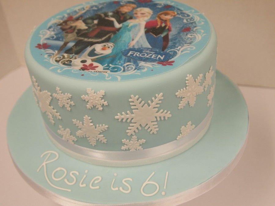 Birthday Cake Ideas Frozen ~ Frozen cake ideas google search cakes pinterest edible