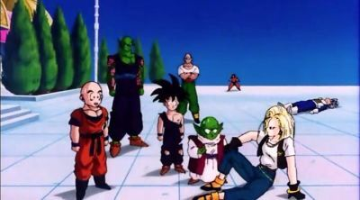 Dragon Ball Z Cell Saga Android 18 Awakens. The Truth Of Krillins Feelings For 18