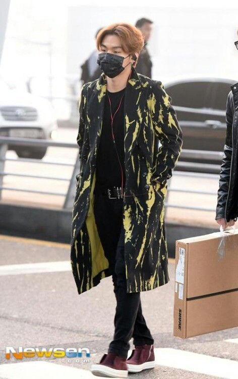 141230 Daesung at Incheon Airport going to Singapore
