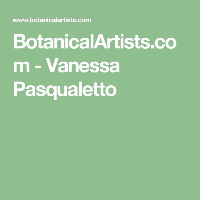 BotanicalArtists.com - Vanessa Pasqualetto