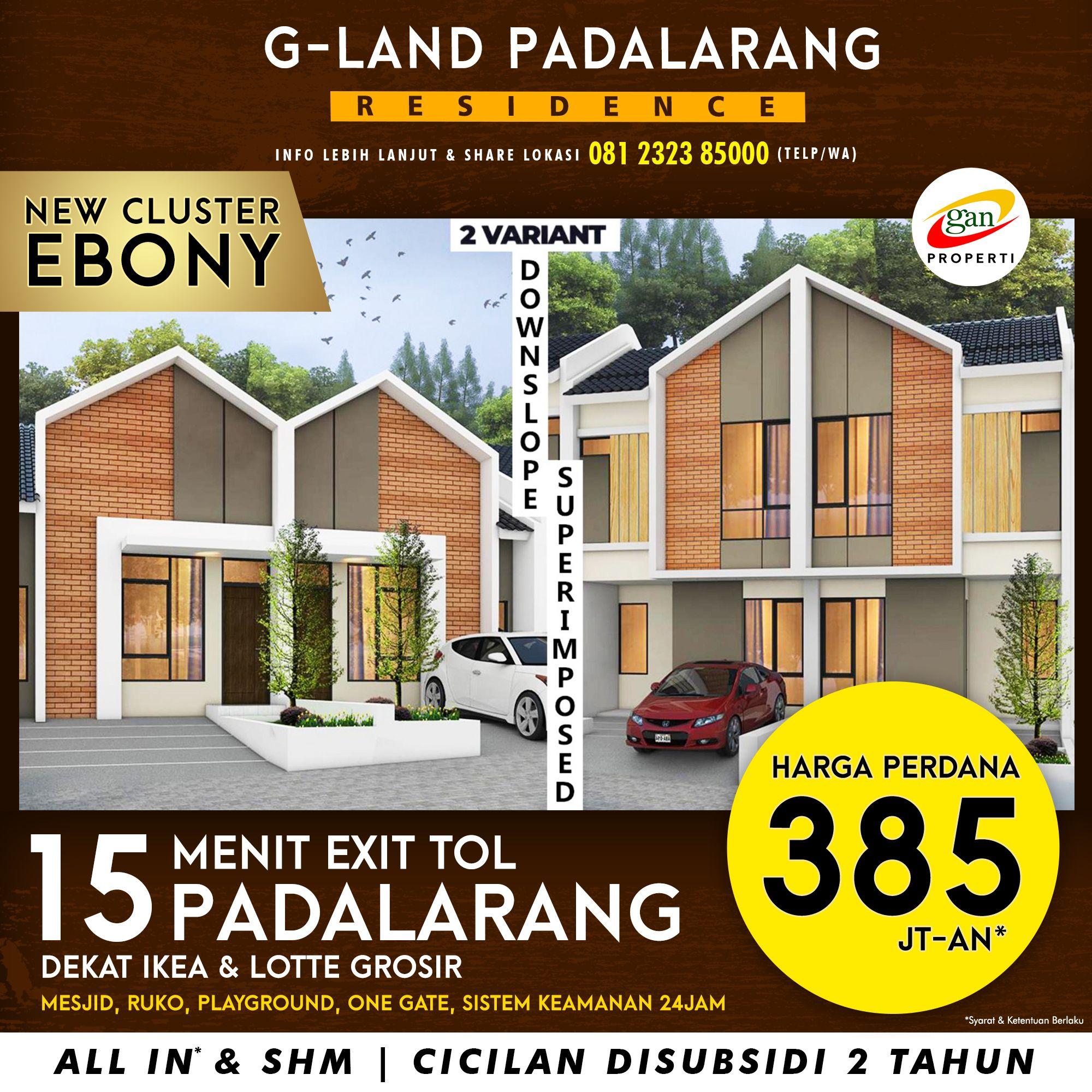 Rumah Bandung Barat Padalarang Jayamekar Cluster Ebony 2 Lantai Harga Murah Terjangkau Cicilan Rumah Ikea Kota Bandung