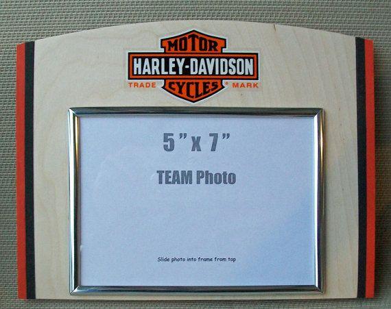 harley davidson picture frames