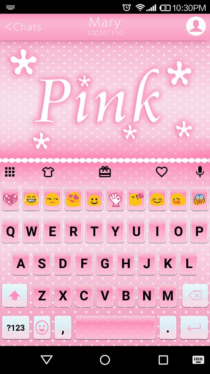 Pink Emoji Keyboard Emoticons Emoji Keyboard Com Emoji Keyboard Android Keyboard Best Emoji Keyboard