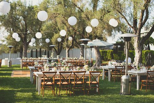 Paper Lanterns Hang Over Outdoor Reception Seating Warm Sunny Sonoma California Vineyard Wedding Photo By Photographers Ep Love