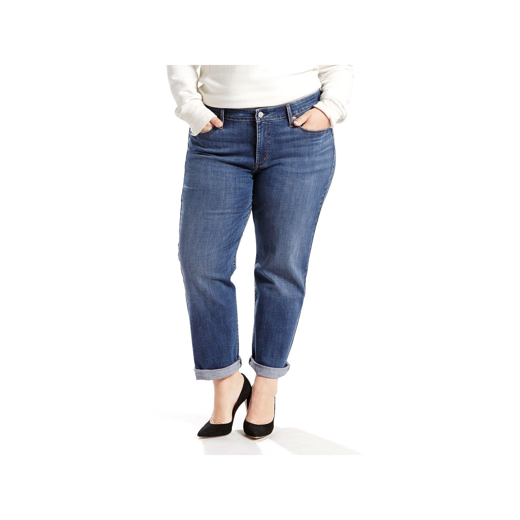 422a8ede25a Plus Size Levi s Boyfriend Jeans in 2019