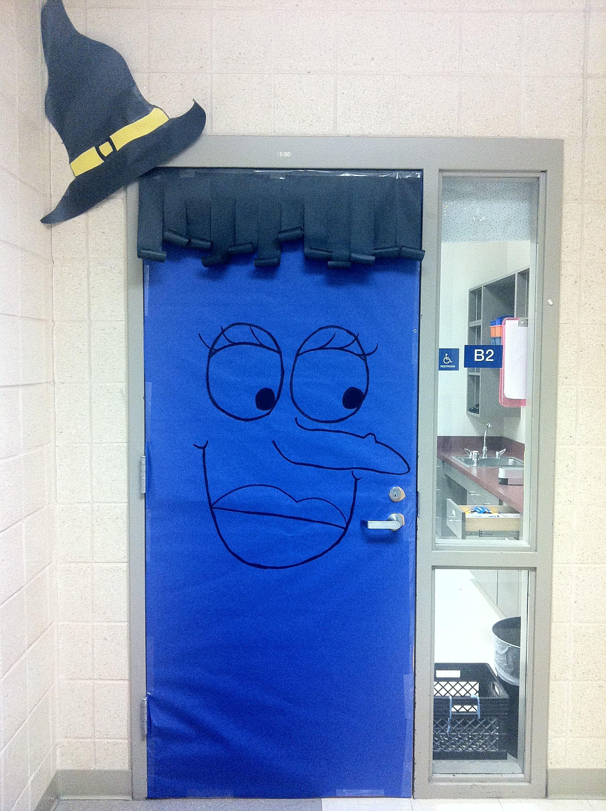 My Halloween Door D
