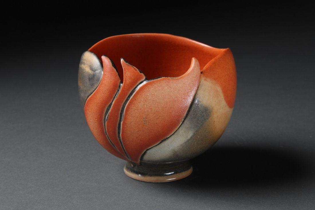 "Ann Fremgen  ""Inner Glow""  2012 teabowls - KC Clay Guild Teabowl National"