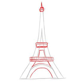 Want to learn how to draw an eiffel tower thecheapjerseys Gallery