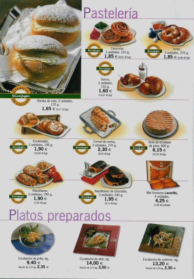 Pasteleria folleto de ventas espana chapter 5 las comidas school forumfinder Gallery