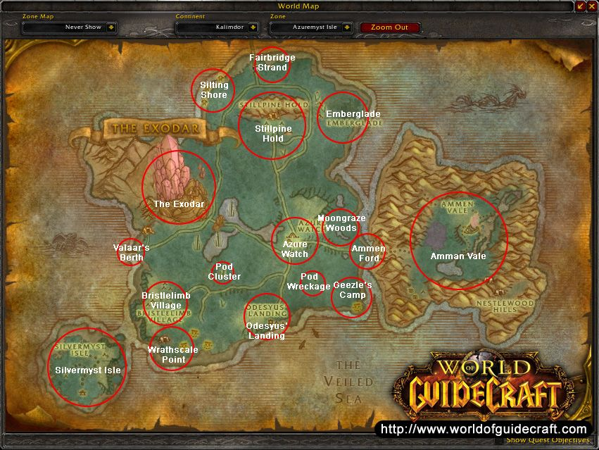 Bloodmyst Isle - Wowpedia - Your wiki guide to the World ...