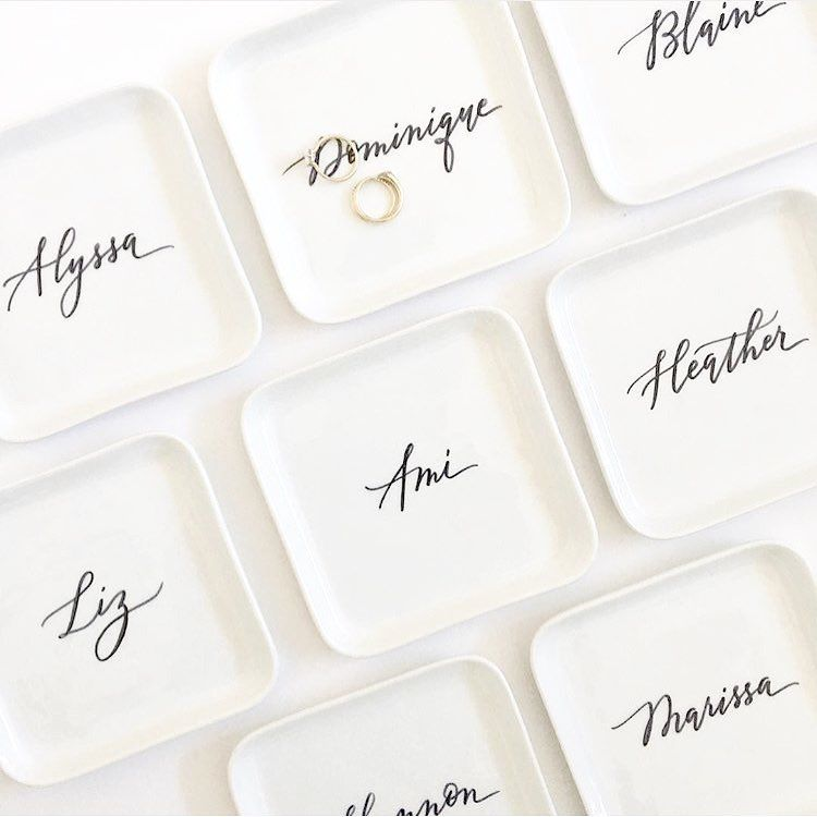 Leah Marie Brant Calligraphy: Calligraphy Bridal Gifts 😍 22 Likes, 0 Comments