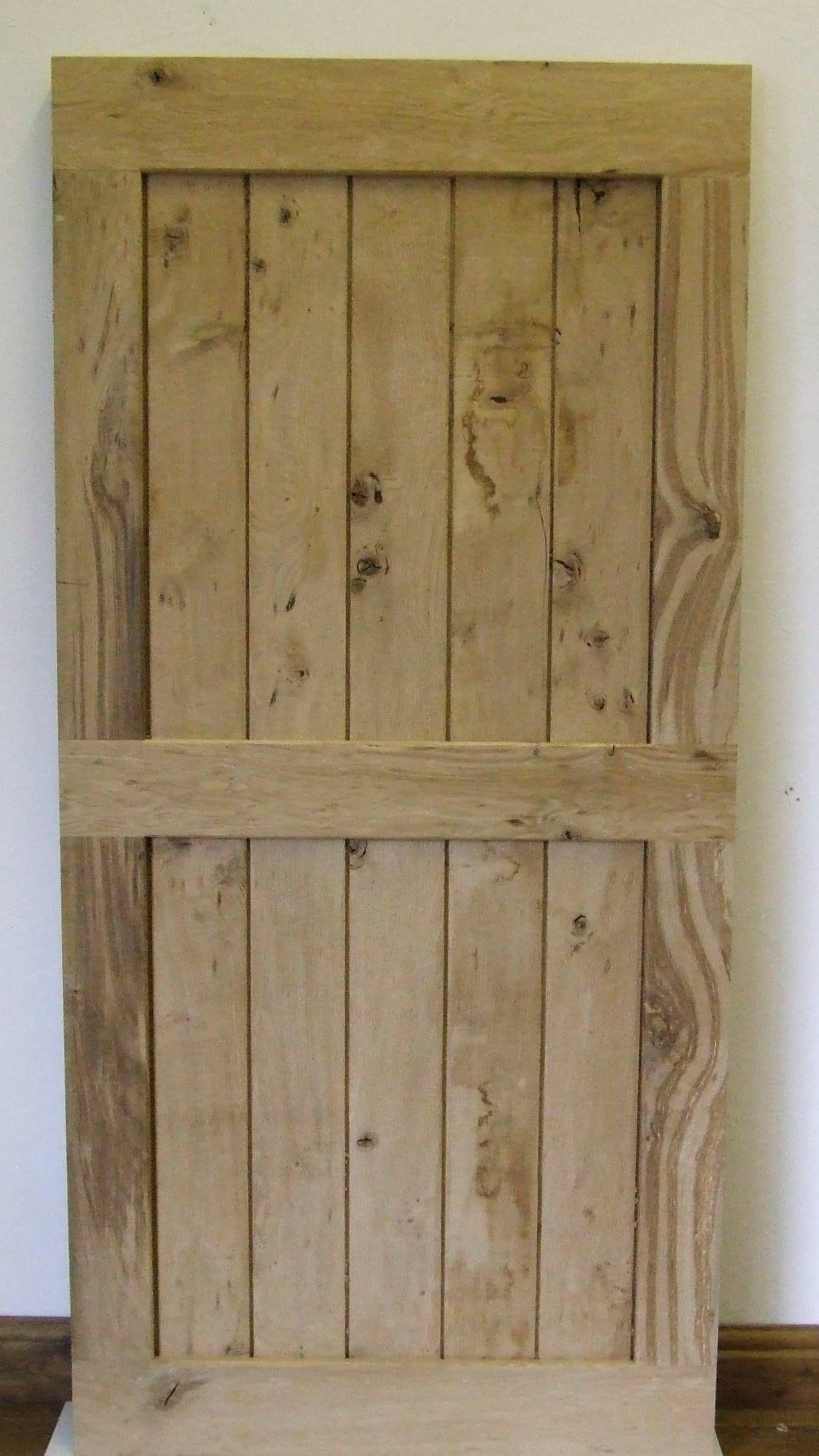 framed batten door made from reclaimed oak & framed batten door made from reclaimed oak | Doors made from ...