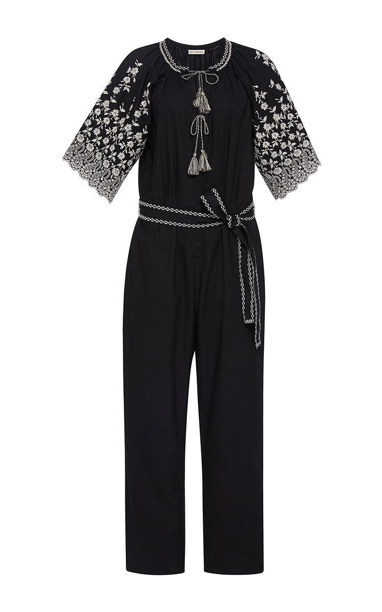Alexi Short Sleeve Jumpsuit by ULLA JOHNSON Now Available on Moda Operandi