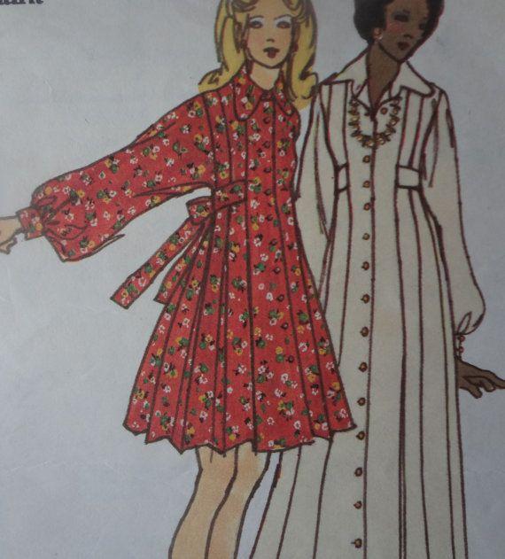 Busto di cartamodello vestito di Mary Quant 6916 di fuzzylizzie