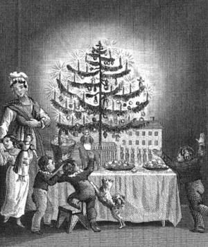 How Germany S Christmas Trees Became American In The 1800s Origin Of Christmas Christmas History Christmas Traditions