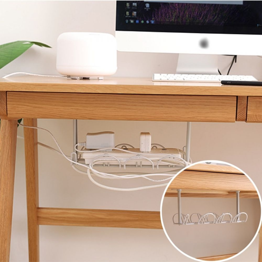 Under Table Extension Cord Holder Under Table Extension Cord Holder Home Decor Best Home Decor Online Store In 2020 Table Extension Table Storage Hanging Racks