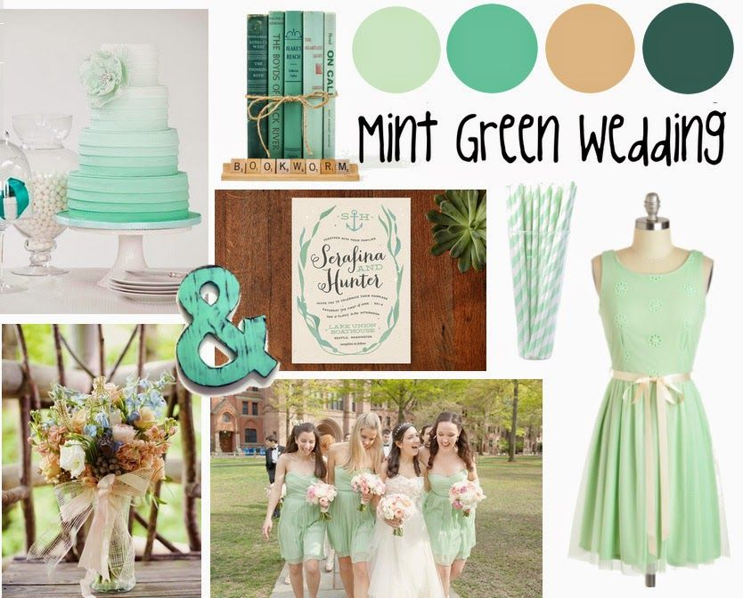 Five Amazing Colors For Your Wedding Day - Mint   Wedding DJ ...