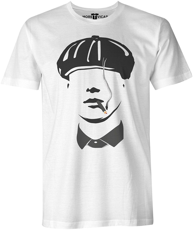 fb01e244 Peaky Blinders - Tommy Shelby Birmingham Gangster Mens Crime Drama T Shirt:  Amazon.co.uk: Clothing