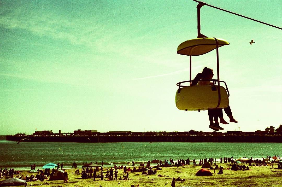 Santa Cruz CA: #35mm #filmisnotdead #film #santacruz #california #leica #shootfilmstaybroke #analog #beach #boardwalk by photo_mp