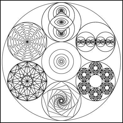 Archetypical vibrations ~ Numerology ~ Sacred geometry ~ Sonic pyramids ~ Crop circles - Ashtar Command - Spiritual Community Network