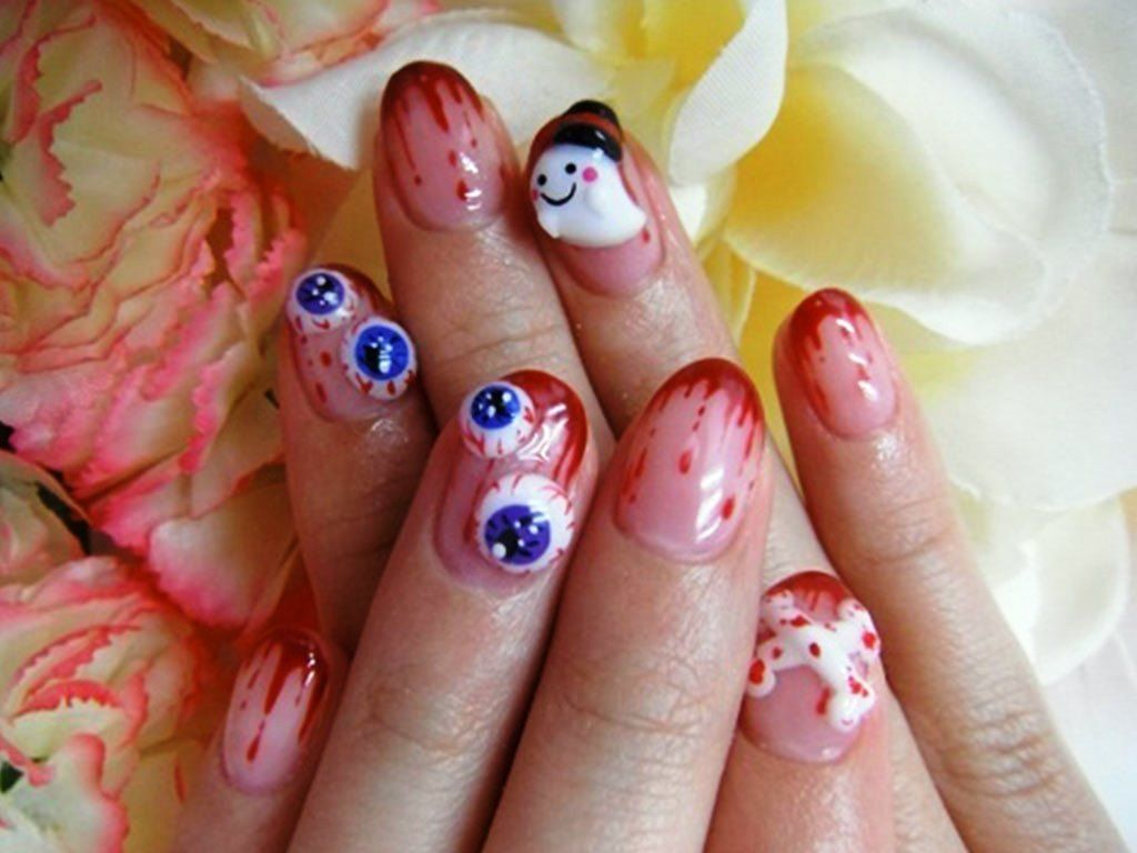2013 Halloween Nail Art Inspiration | Nail art trend | Pinterest ...