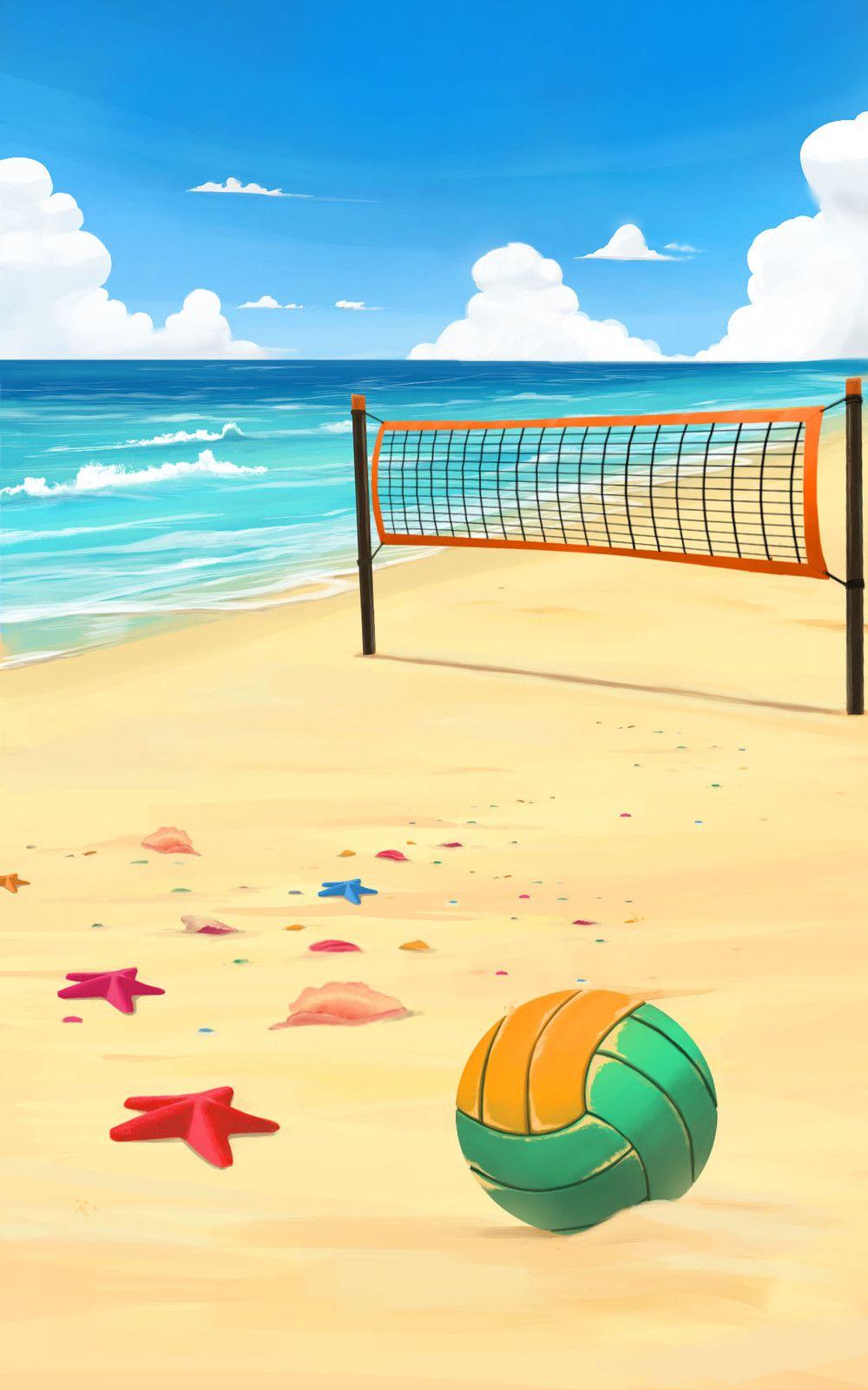 Artstation Beach Volleyball Fabian Vazquez In 2020 Beach Beach Volleyball Volleyball