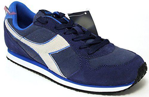 Diadora N.92, Chaussures de Gymnastique Homme, Bleu (Blu Estate), 45 EU