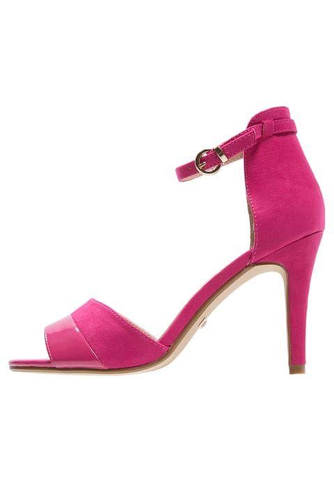 Buffalo High heeled sandals - fuschia