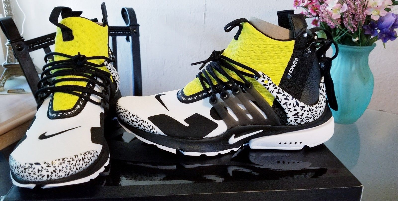 57ebaa4ffd762 Nike Air Presto Mid Acronym Dynamic Yellow Size 9 New deadstock ...