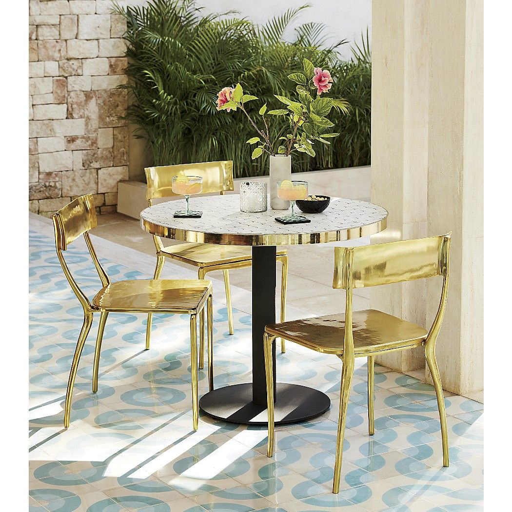 Midas Gold Dining Chair