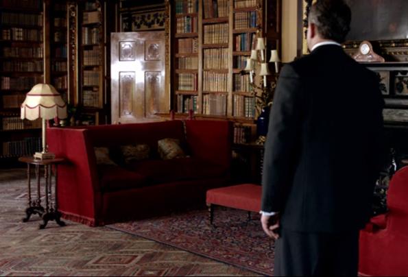 I Need To Discuss Downton Rotes Sofa