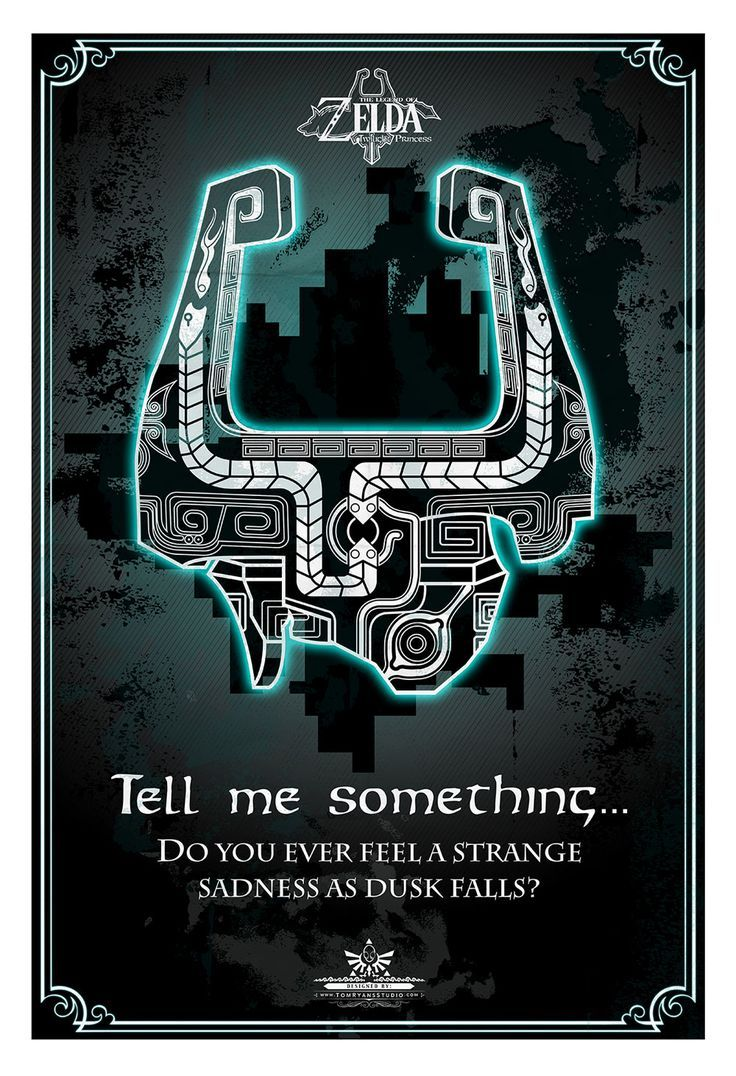 Zelda Quotes The Legend Of Zelda Poster Series  Createdtom Ryan Available