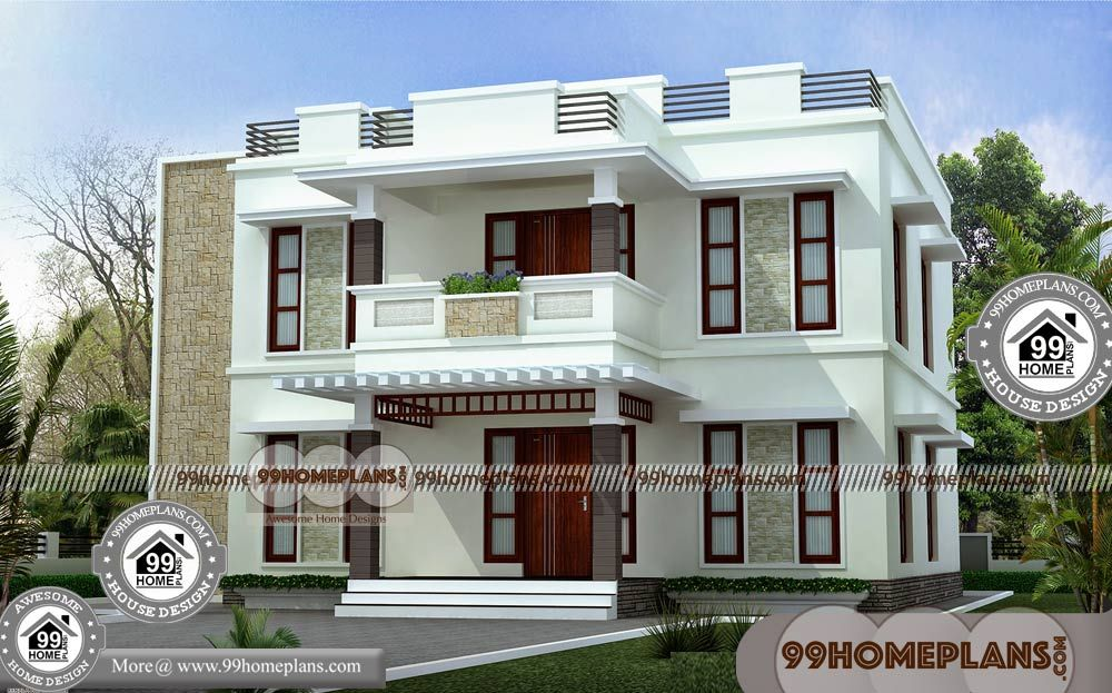 Small Double Storey House Plans & Best Narrow Lot House