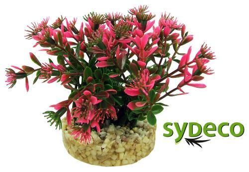 SYDECO Nature Collection Aqua Flora Aquarium Nano Bush Pink