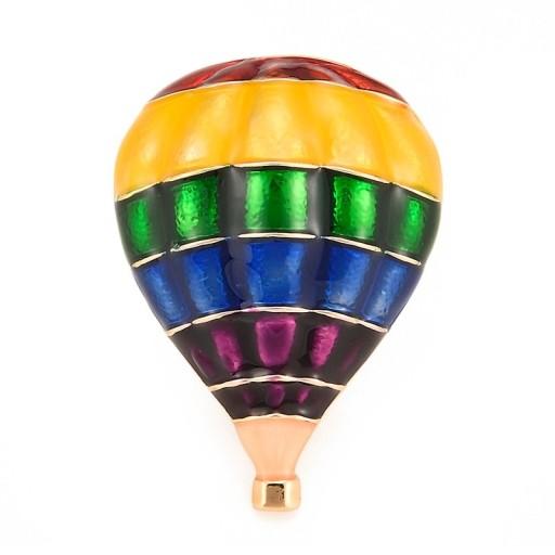 Lux Broszka Balon Pudelko 7751192493 Oficjalne Archiwum Allegro Girl With Hat Air Balloon Ladies Party