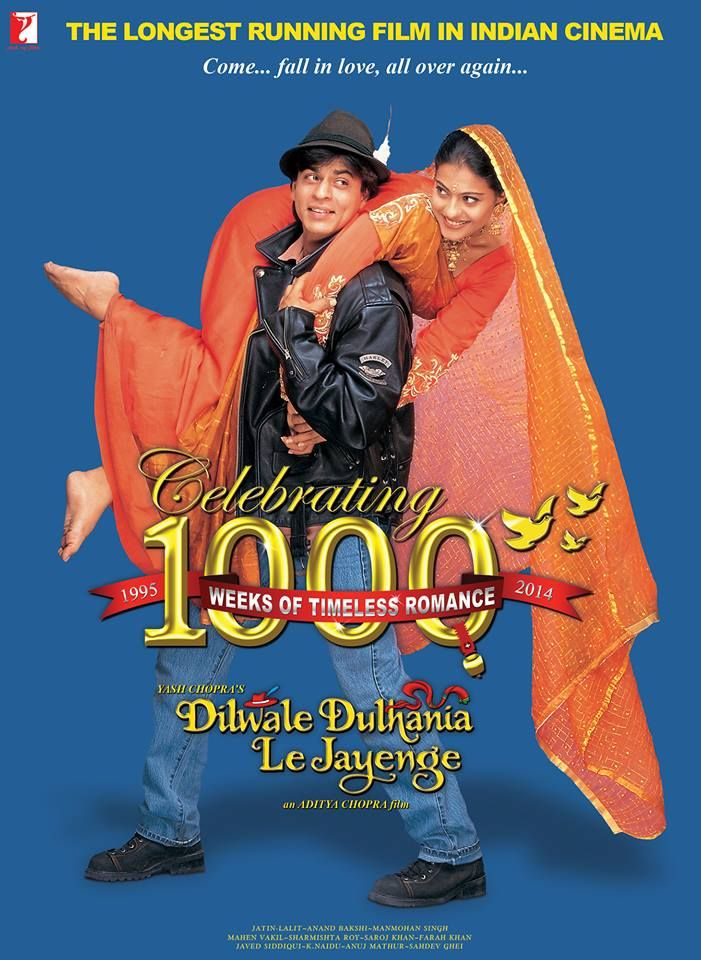 Dilwale Dulhania Le Jayenge Film Complet Vf