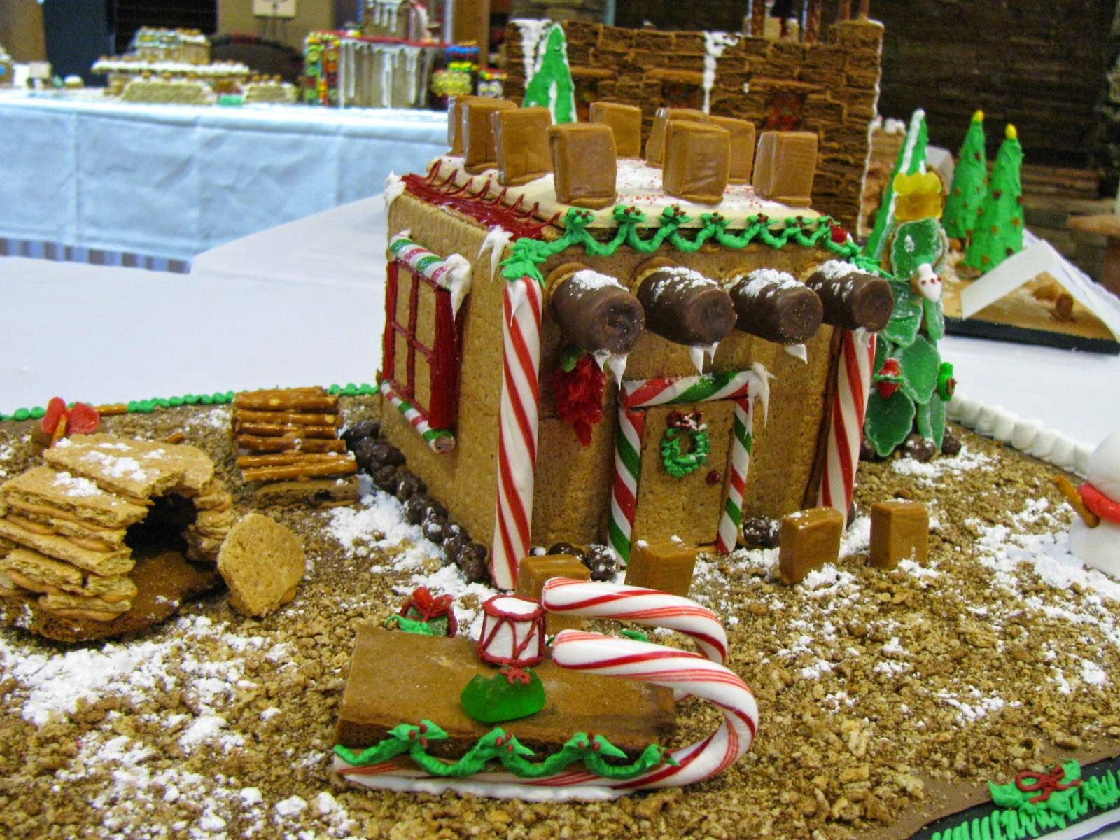 Southwest Gingerbread House Contest Indian Pueblo Cultural Center